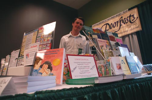 Doorposts booth at Christian Heritage Convention