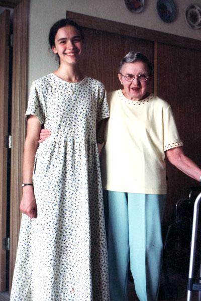Grandma with Bethany