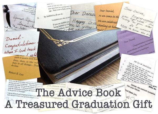 A Treasured Graduation Gift - The Advice Book