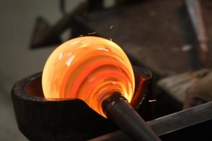 In the Furnace 100714Glass-blowing1