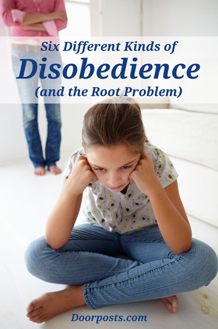 Six Different Kinds of Disobedience (and the root problem) - Doorposts blog