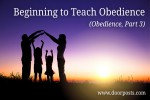 beginning-to-teach-obedience-definition-example