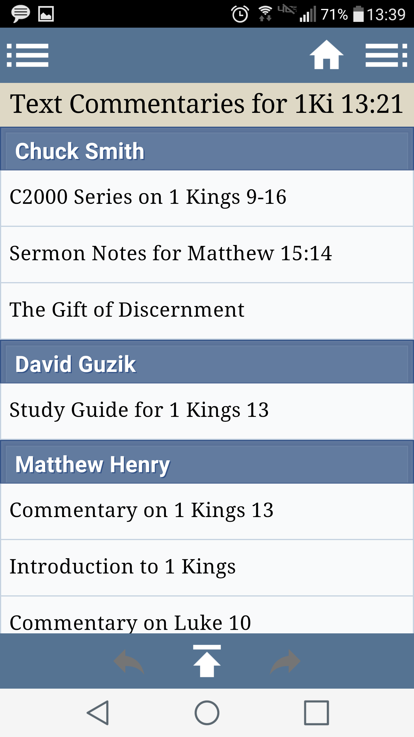 Doorposts Android Blue Letter Bible App Instructions