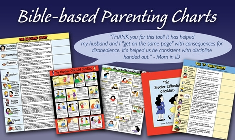 Bible-based Parenting Charts