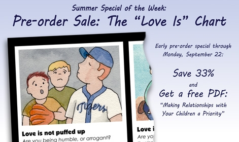 Last Summer Special - Pre-order The Love Is Chart