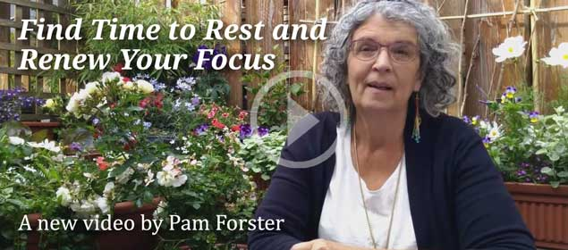 Find Time to Rest and Renew Your Focus