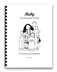 Ruby Doll Patterns and Instructions