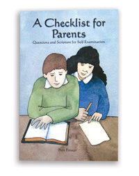 A Checklist for Parents